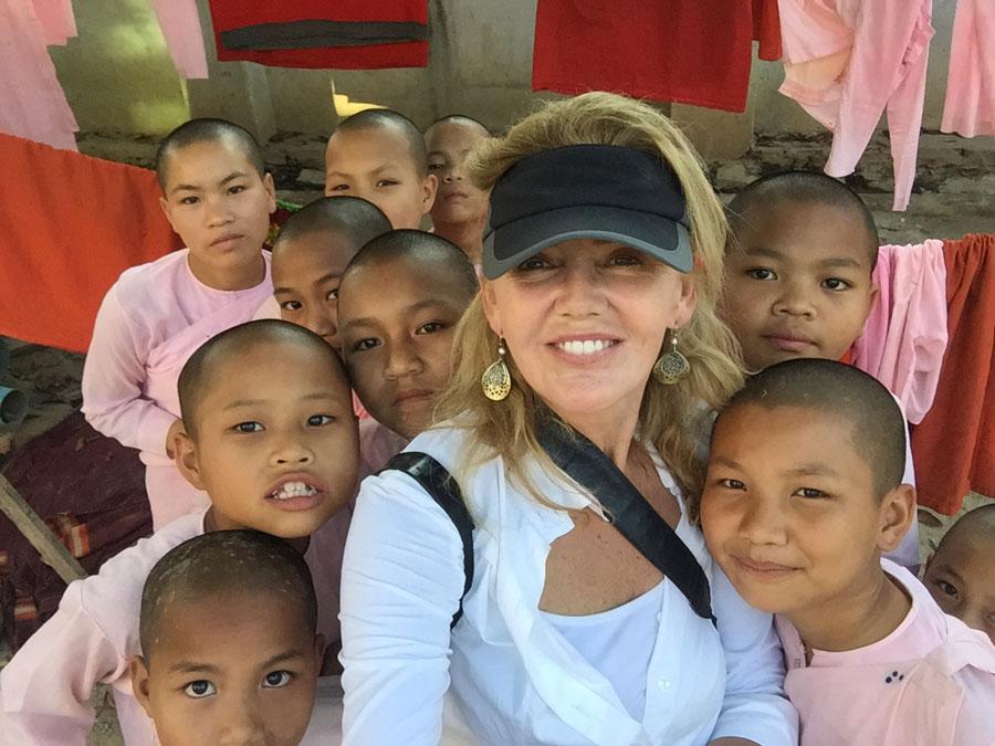 Andrea Booher in Myanmar 2015